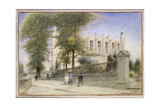Eton College, Windsor, 1923 Giclee Print by Albert Goodwin