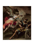 St. Peter Freed from Prison Giclée-tryk af Sebastiano Ricci
