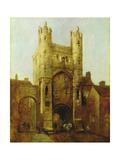 Monk Bar, York, 1832-43 Giclee Print by William Etty