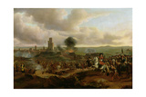 A Battle Scene: Possibly James Scott, Duke of Monmouth at the Siege of Maastricht in 1673 Giclee Print by Jan Wyck