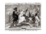 The Meeting of St. Ignatius of Antioch (D.C.107 AD) and St. Polycarp of Smyrna (C.69-C.155 AD) Giclee Print by Giacomo Triga
