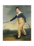 Boy with a Hoop Giclee Print by John Opie