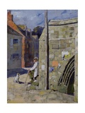 The Bridge, Crowland Giclee Print by Sir James Guthrie