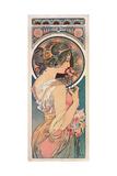 Primrose, 1899 Reproduction procédé giclée par Alphonse Marie Mucha
