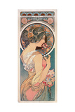 Primrose, 1899 Giclée-tryk af Alphonse Mucha