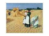 The Gleaners Giclee Print by Alexander Mann