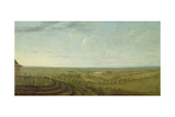 View of Knowsley from Riding Hill Giclee Print by Peter Tillemans