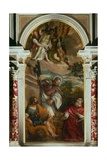 Dead Christ Supported by Angels and Saints Giclee Print by Paolo Veronese