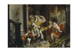 Aeneas and Anchises Escaping from Troy, c.1587 Giclee Print by Federico Fiori Barocci or Baroccio