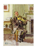 Old Heffel of Rowton House, 1915-17 Giclee Print by Walter Richard Sickert