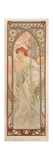 The Times of the Day: Evening Contemplation, 1899 Giclee Print by Alphonse Marie Mucha