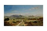 Hills Near Allauch, 1862 Giclee Print by Paul Camille Guigou