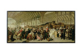 The Railway Station, 1863 Giclee Print by William Powell Frith