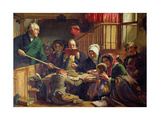 Collecting the Offering in a Scottish Kirk, 1855 Giclee Print by John Phillip