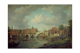 Ouse Bridge, York, c.1764 Giclee Print by William Marlow