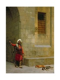 Arnaut Et Chiens, c.1879 Giclee Print by Jean Leon Gerome