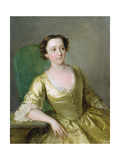 Miss Adams, c.1741 Giclee Print by Philippe Mercier