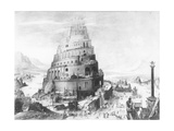 The Tower of Babel Giclee Print by Pieter Brueghel the Younger