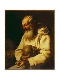 Saint Romuald Giclee Print by Johann Karl Loth