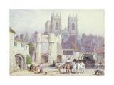 York Giclee Print by Myles Birket Foster
