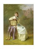 Awfully Jolly Giclee Print by Jane Maria Bowkett