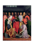 The Washing of the Feet, 1500 Giclee Print by Giovanni Agostino Da Lodi