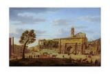 Hadrian's Arch, Rome Giclee Print by Hendrik Van Lint
