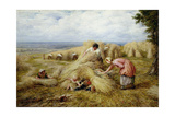 The Harvest Cradle: Noontide, 1859 Giclee Print by John Linnell