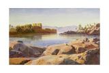 Philae on the Nile Giclée-Druck von Edward Lear