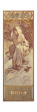 The Seasons: Winter, 1897 Giclee Print by Alphonse Marie Mucha