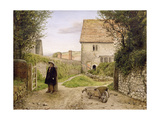 The Entrance to the Manse Giclee Print by William Dyce