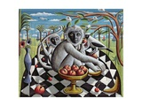 In a Land Where Palm Trees Grow, 1009 Giclee Print by P.J. Crook