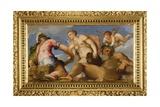 Venus Between Mars and Neptune, 1553-1555 Giclee Print by Giambattista Zelotti