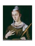 Saint Justina Giclee Print by Bartolomeo Montagna