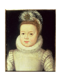 Portrait of a Child, Said to Be Louis XIII (1601-43), c.1604 Giclee Print by Frans II Pourbus