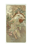 The Seasons: Autumn, 1896 Giclee Print by Alphonse Marie Mucha
