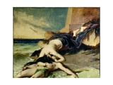 Hero and Leander Giclee Print by William Etty