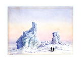 An Iceberg Off Cape Evans, 1st-11th September, 1911 Giclee Print by Edward Adrian Wilson