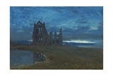 Whitby Abbey, 1900 Giclee Print by Albert Goodwin