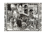 Entry of Christ into Jerusalem Giclee Print by Pietro Lorenzetti