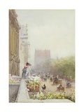 Piccadilly in June, 1892 Giclee Print by Rose Maynard Barton
