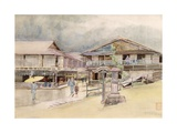 Rainy Day at Yumoto, 1889 Giclee Print by Sir Alfred East