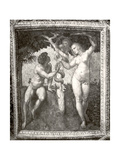 Adam and Eve, from the 'Stanza Della Segnatura', c.1508-11 Reproduction procédé giclée par  Raphael