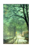 Bonchurch, Ventnor, Isle of Wight Giclee Print by John Atkinson Grimshaw