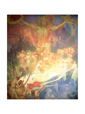 The Apotheosis of the Slavs, from the 'Slav Epic', 1926 Giclee Print by Alphonse Mucha