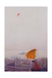 Early Morning, Varanasi Giclee Print by Derek Hare