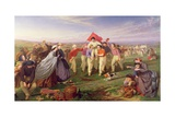 Winner of the Match, Excelsior Cricket Club, 1864 Giclee Print by Henry Garland