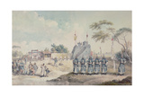 Chinese Military Post on the River Eu Ho Giclee Print by William Alexander