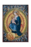 Madonna and Child, with Heavenly Host Giclee Print by Hans Fries