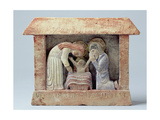 Nativity, 1920 (Stone with Added Colour) Giclee Print by Eric Gill